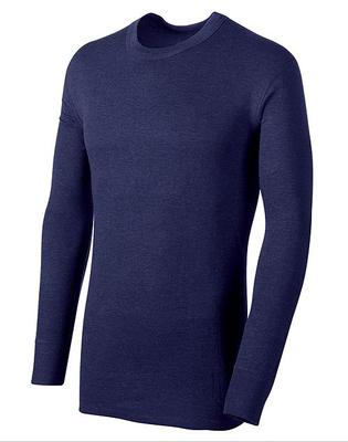 MENS LONG SLEEVE CREW MIDWT THERMAL