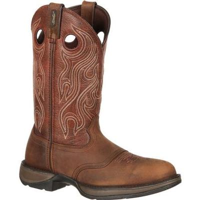 MNS BROWN 12` WESTERN BOOT