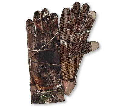 CAMO SPANDEX UNLINED TECH GLOVES XTRA