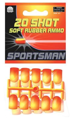 TOY SOFT RUBBER AMMO