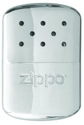 CHROME ZIPPO HAND WARMERS