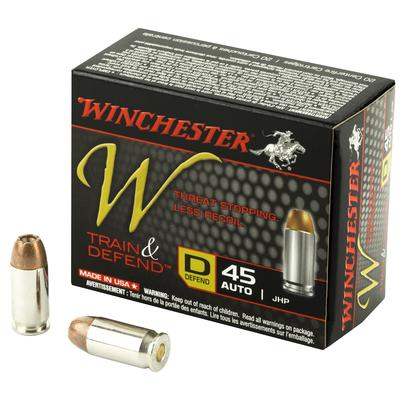 45AUTO 230GR JHP TRAIN  DEFEND 200RD