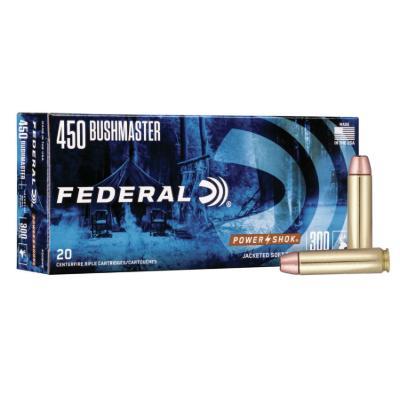 450 BUSHMASTER 300GR JSP POWER SHOK 20RD