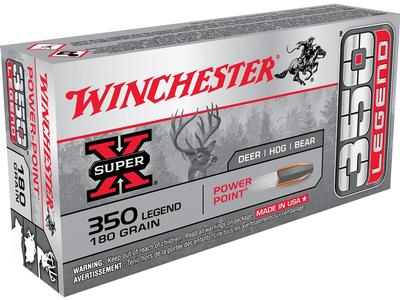 350 LEGEND 180GR POWER POINT SUPER X 20RD