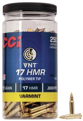 17 HMR 17 GR VNT TIPPED 250 CT BOTTLE