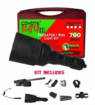 COYOTE REAPER XXL 700YD PREDATOR LIGHT KIT GREEN/RED