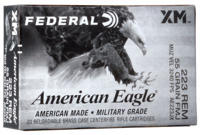 223REM 55GR FMJ AMERICAN EAGLE 20RD