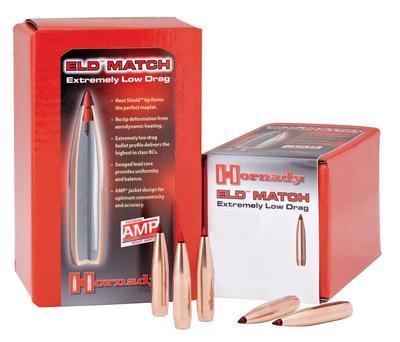 6.5MM .264` 140 GR ELD MATCH QTY 100