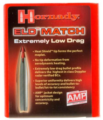 ELD MATCH 30 CAL 208 GR 100
