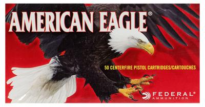 Federal AE10A American Eagle 10mm Automatic 180 GR Full Metal Jacket 50 Bx/ 20 Cs